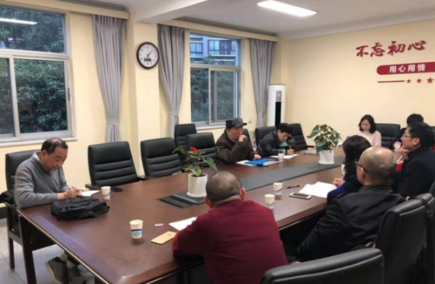 On the afternoon of November 28, 2019, Professor Zhu Ling, an expert from the Ideological and Political Theoretical Course Inspection Team of Southwest Jiaotong University, convened a seminar on the teaching of the Outline of Chinese Modern History in Room 209 of Wanqingyuan, Jiuli Campus. Associate Professor Wang Peng presided over the seminar with attendees such as Professor He Yun'an and tea...